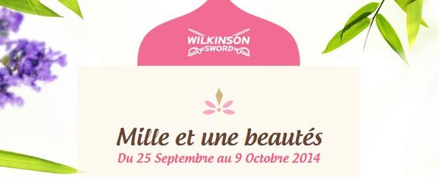 Mywilkinson.fr - Jeu facebook Wilkinson pour elles