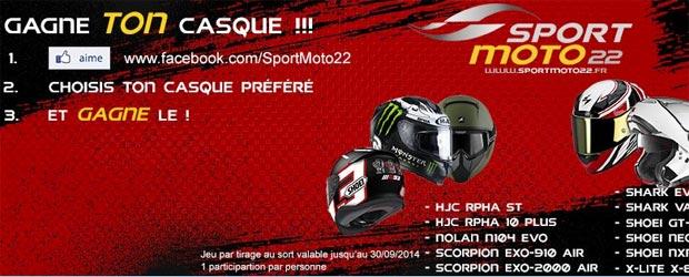 Sportmoto22.fr - Jeu facebook Sport Moto