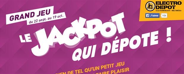 Electrodepot.fr - Jeu facebook Electro Dépôt France