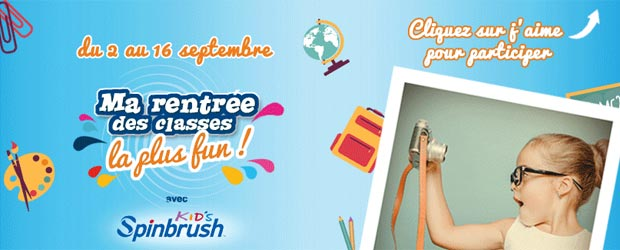 Spinbrush.fr - Jeu facebook Spinbrush France