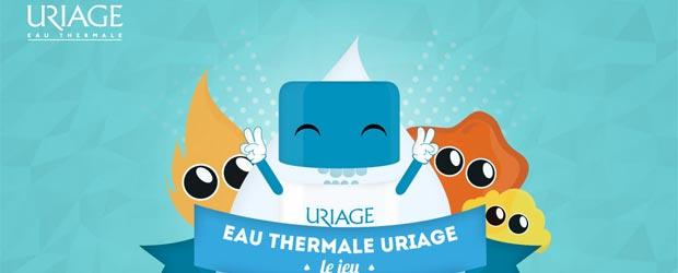Uriage.com - Jeu facebook Uriage