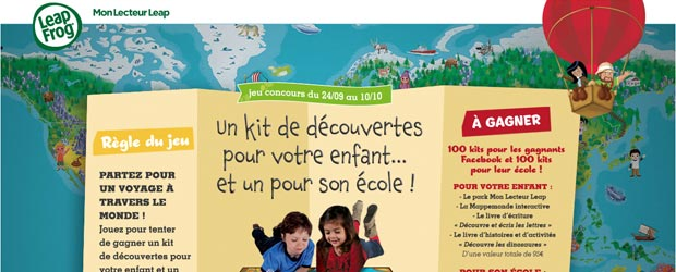 Leapfrog.fr - Jeu facebook LeapFrog France