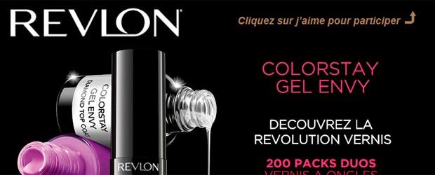 Revlon.fr - Jeu facebook Revlon France
