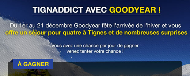 Goodyear.eu - Jeu facebook Goodyear