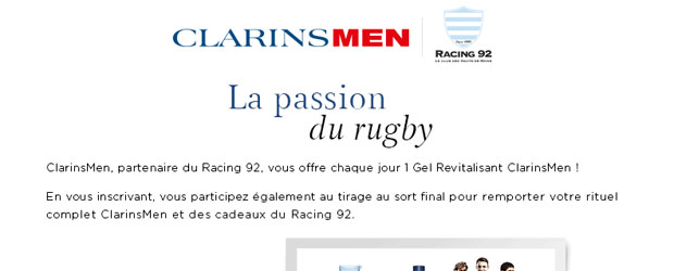 Jeu facebook Clarins France