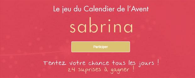 Jeu facebook Sabrina Paris
