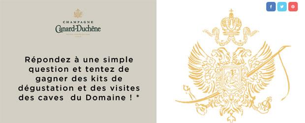 Jeu Facebook Champagne Canard-Duchêne