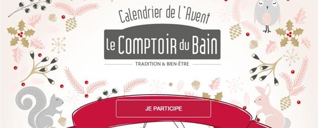 Jeu facebook Le Comptoir du Bain